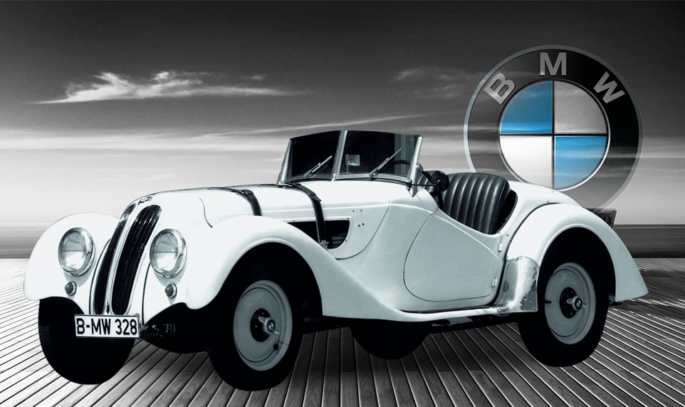 1936 BMW 328. (Photo: Altered by <b>The Quint</b>)