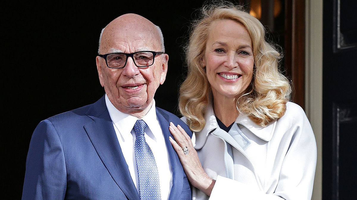 Rupert Murdoch 'Happiest Man in World' After Marrying Jerry Hall