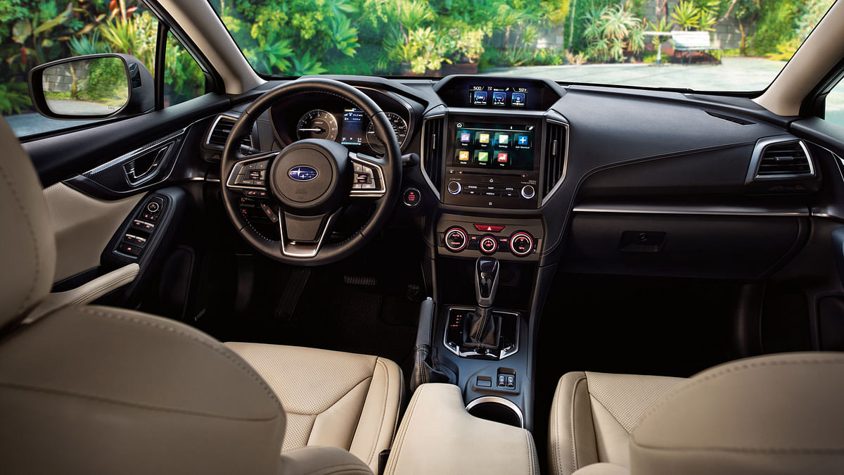 Subaru Impreza interiors. (Photo: Subaru)
