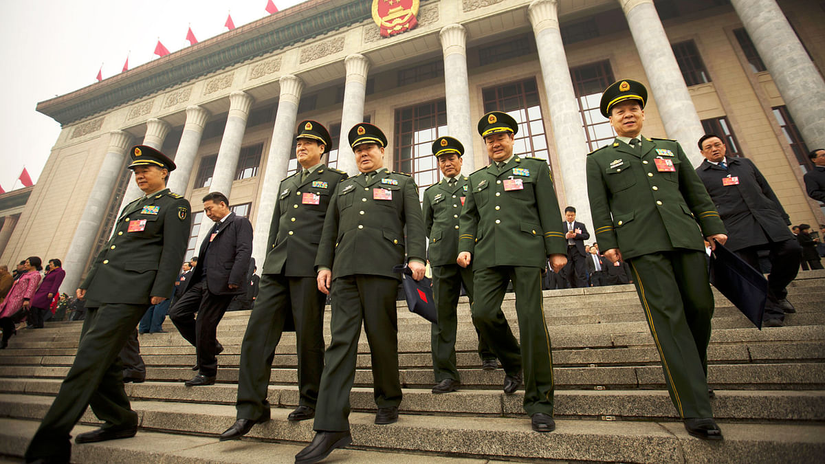 China last year increased its defence budget by 8.1 percent, taking its declared defence spending to a whopping $175 billion.