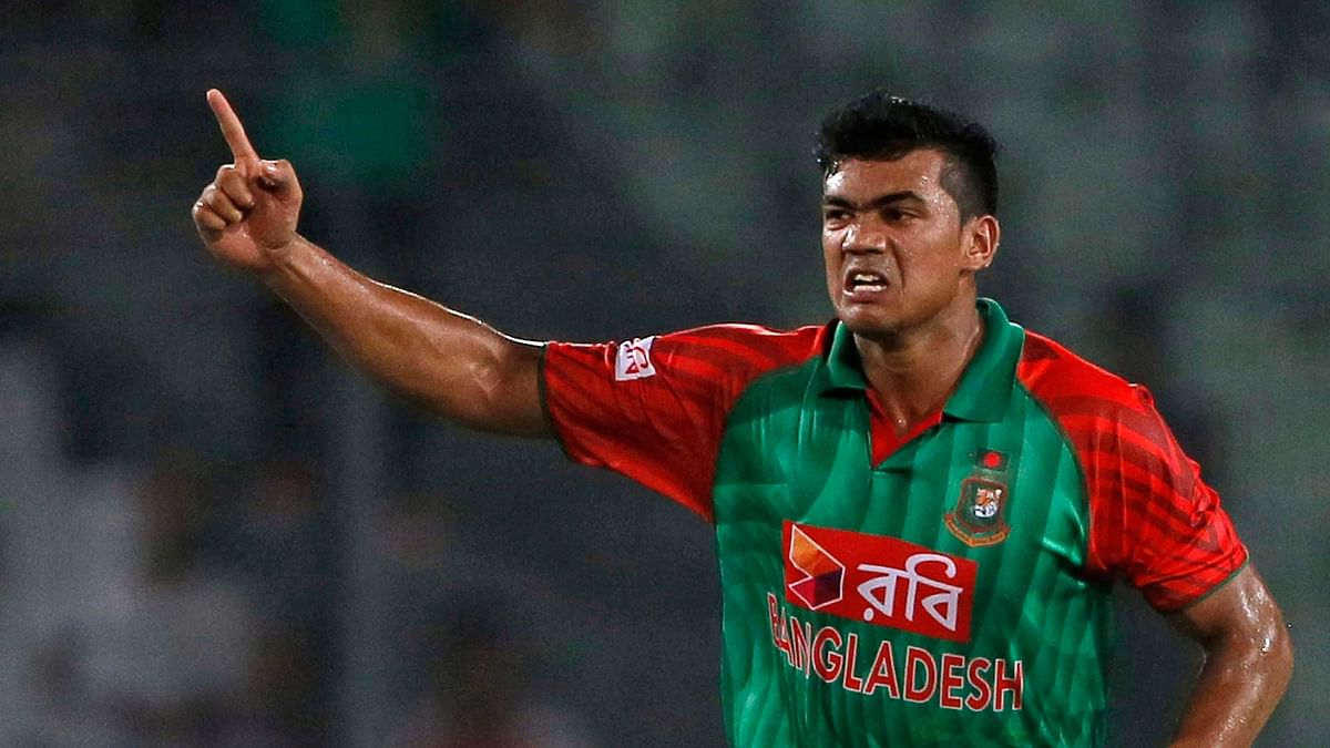 File picture of Taskin Ahmed (Photo: AP)