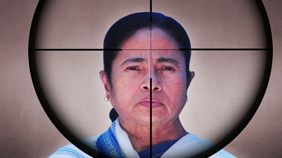 EC issues show cause notice to West Bengal Chief Minister Mamata Banerjee for violation of MCC in Asansol.  (Photo: <b>The Quint</b>)