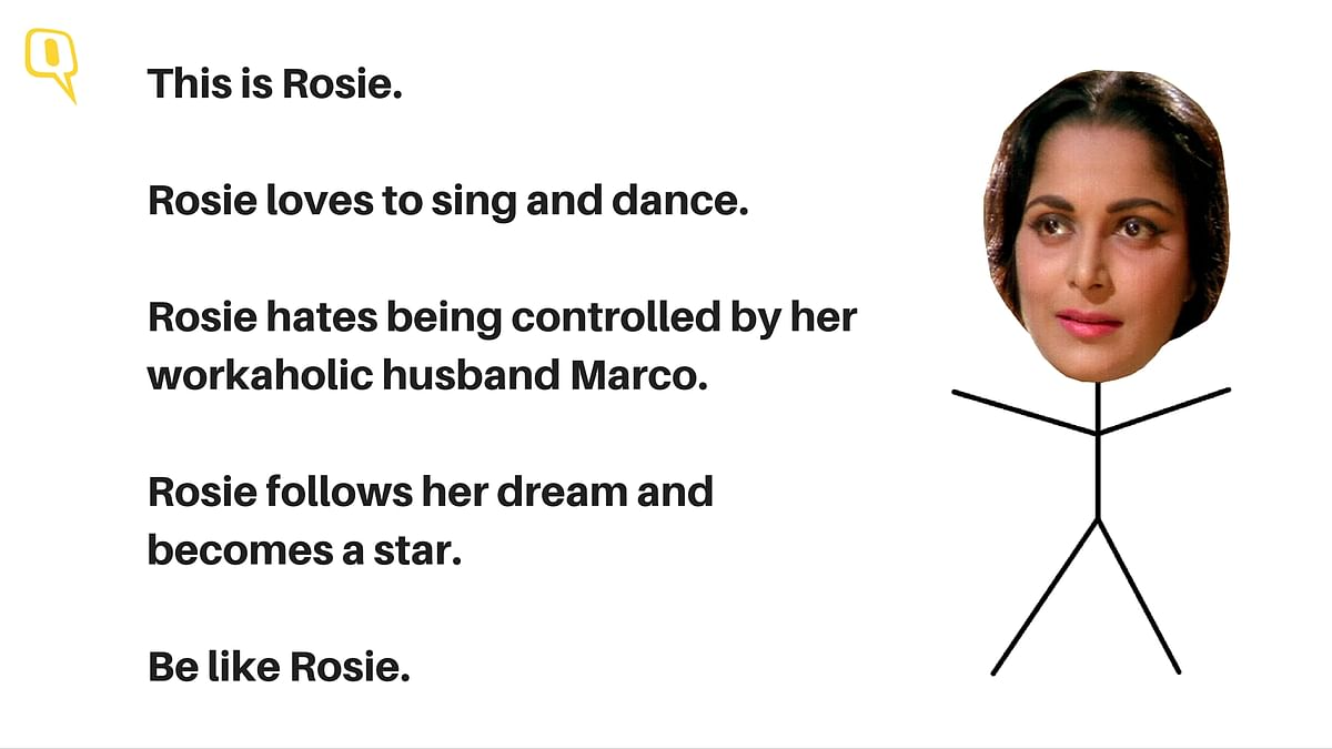 Waheeda Rehman plays Rosie in <i>Guide</i>