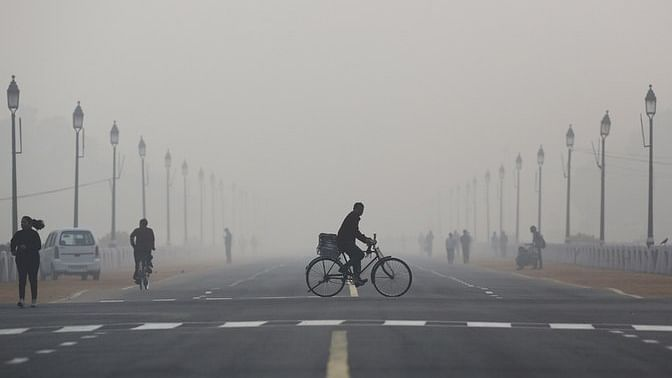 Delhi's air pollution. (Photo: iStockphoto)
