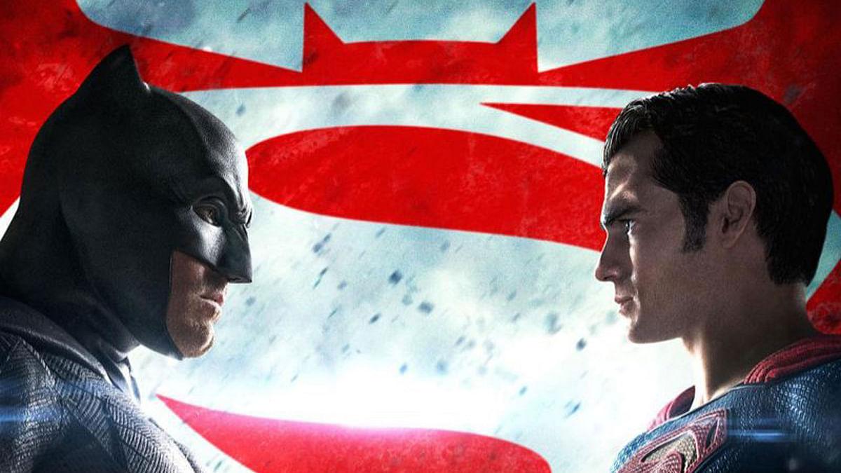 Movie poster of<i> Batman v Superman: Dawn of Justice</i>