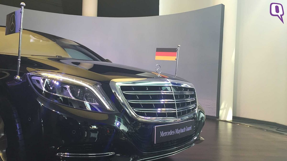 The new Mercedes-Maybach S600 Guard. (Photo: <b>The Quint</b>)