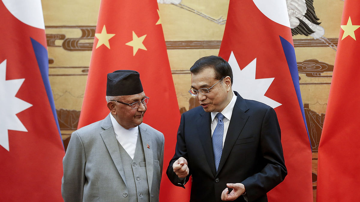 Nepal PM KP Oli in China for Five-Day Visit from 19 June