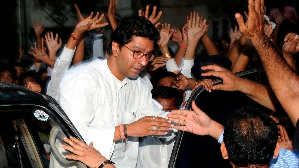 MNS chief Raj Thackeray said burn the autos driven by non-Marathis. (Photo: Reuters)