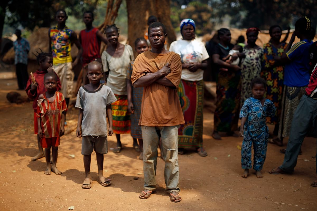 People living in refugee camps of Central Africa. (Photo: AP)