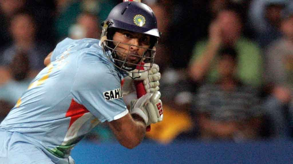 Yuvraj Singh, Herschelle Gibbs Welcome Pollard to Six Sixes Club