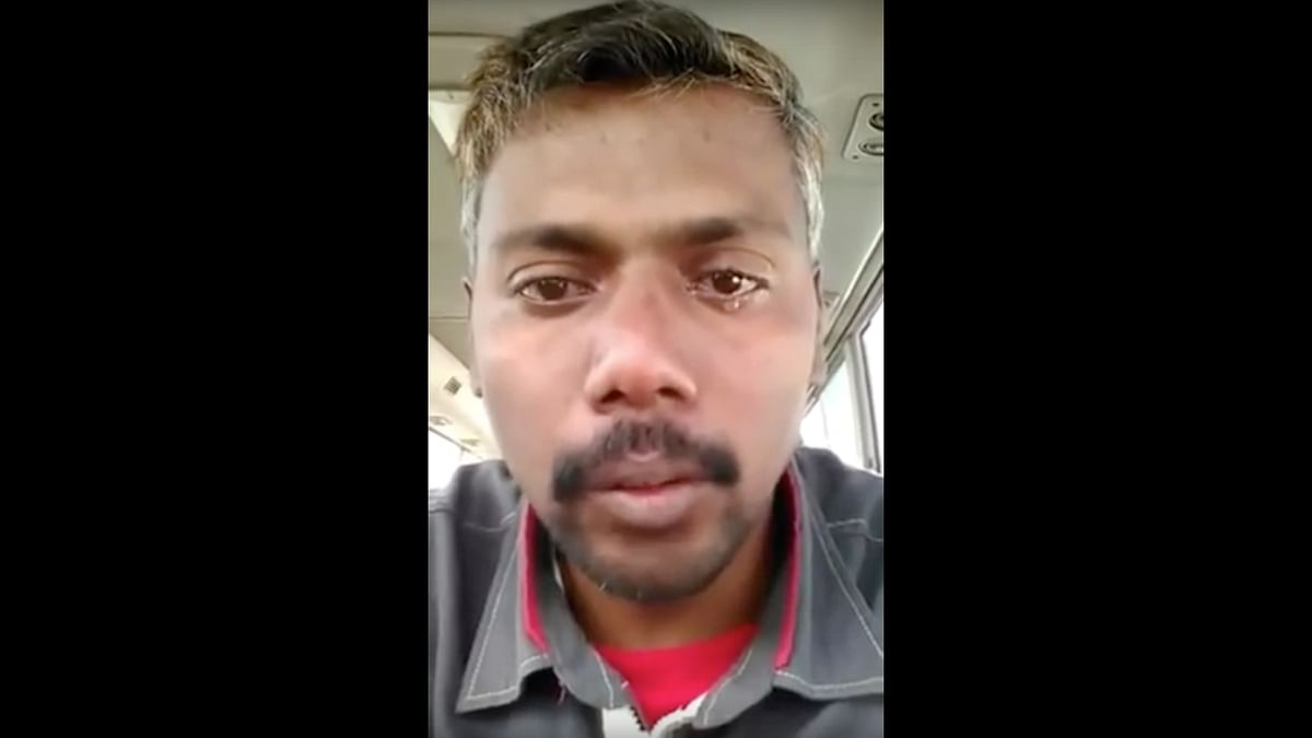 Mistreated Indian Labourer in Saudi Arabia Begs to be Brought Back