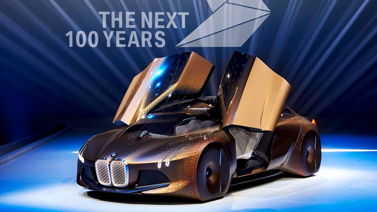 BMW Vision sure looks futuristic. (Photo: BMW)
