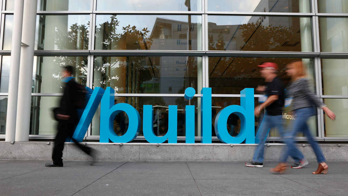 Microsoft Build 2016 goes on from 30 March to 1 April.