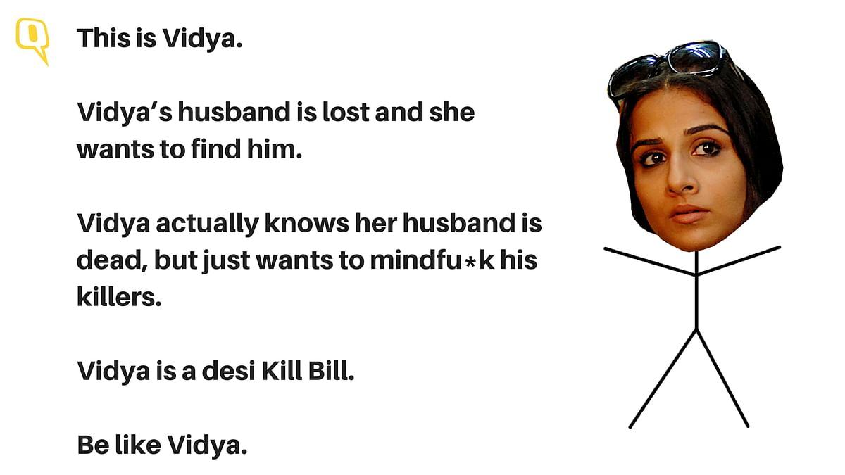 Vidya Balan plays Vidya in <i>Kahaani</i>