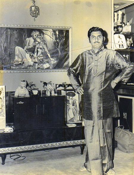 Clearly a modernist, Anand Bakshi had grasped that youthful penchant for acronyms.(Photo Courtesy: Khalid Mohamed)