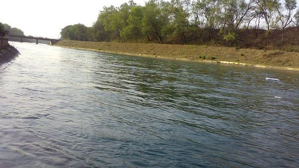 """A part of Sutlej-Yamuna Link Canal. (Photo Courtesy: <a href=""""https://twitter.com/NCRTRIBUNE9/status/708169516186882048"""">Twitter</a>/@NCRTRIBUNE9)"""