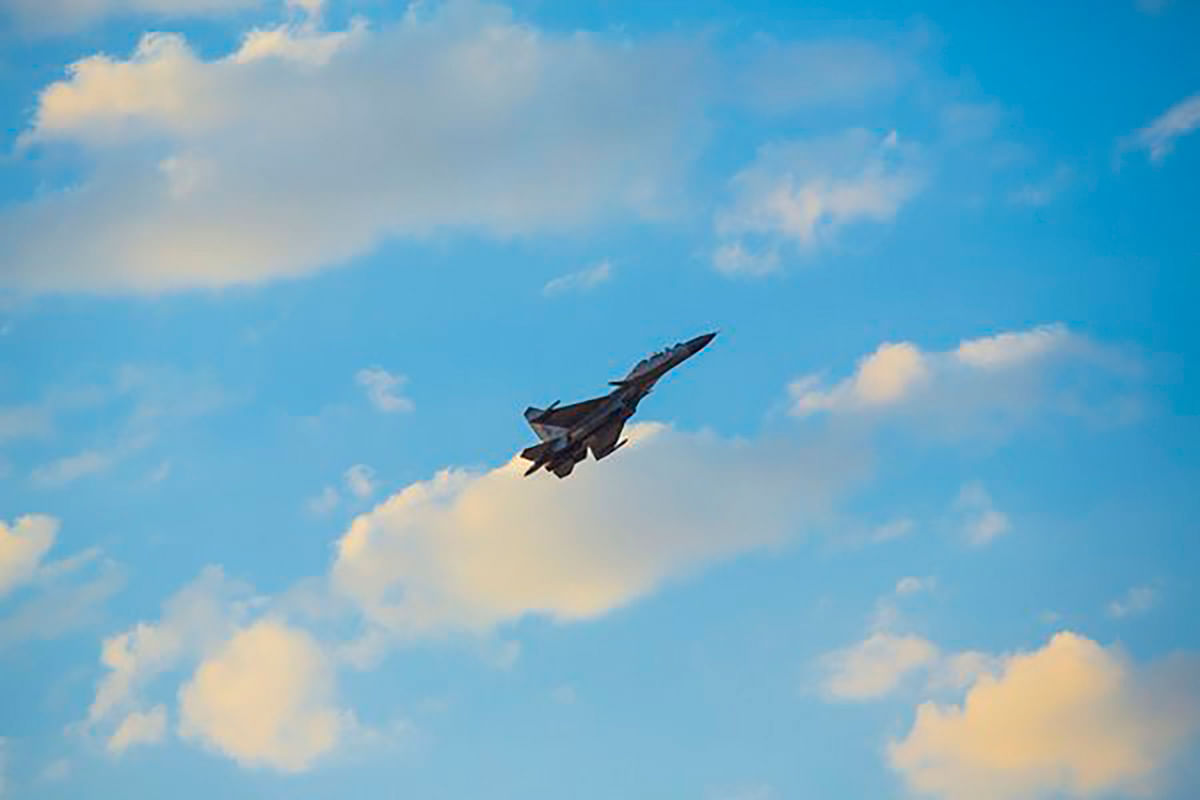 """Aiming sky high. (Photo Courtesy:<a href=""""https://twitter.com/PIB_India/status/710847230899400704""""> Twitter</a>)"""
