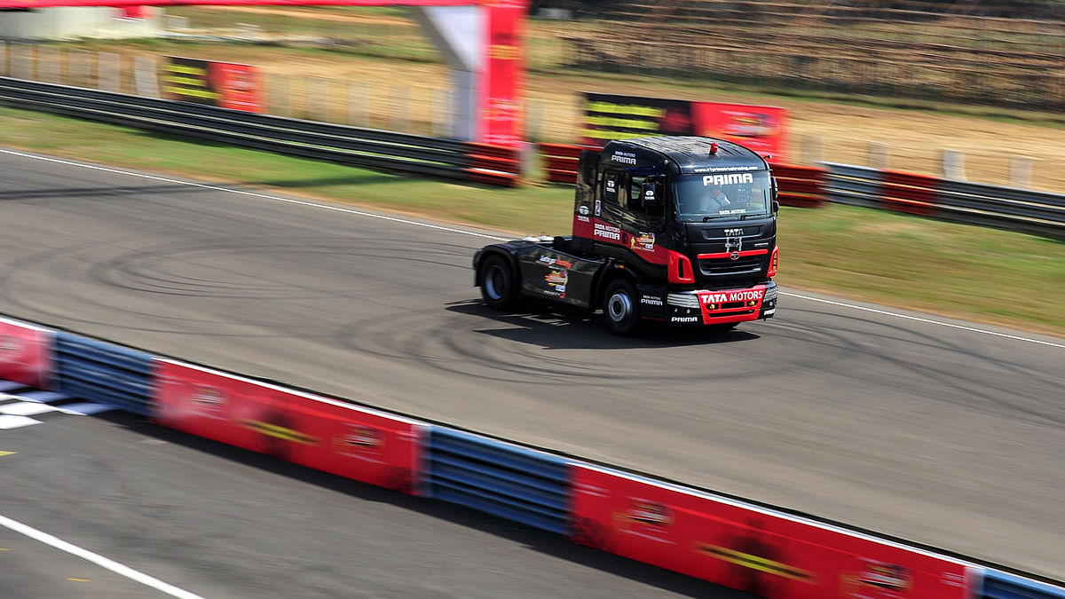 Indian truck drivers were trained to become professional racers. (Photo: Tata Motors)