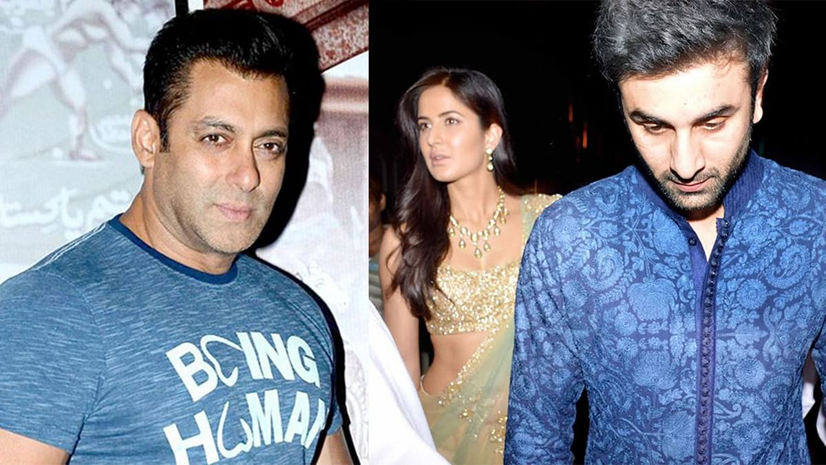 What's happening in Ranbir and Katrina's life? Salman Khan claims he's innocent (Photos courtesy: Twitter)
