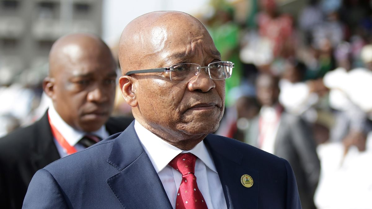 South Africa President Jacob Zuma.