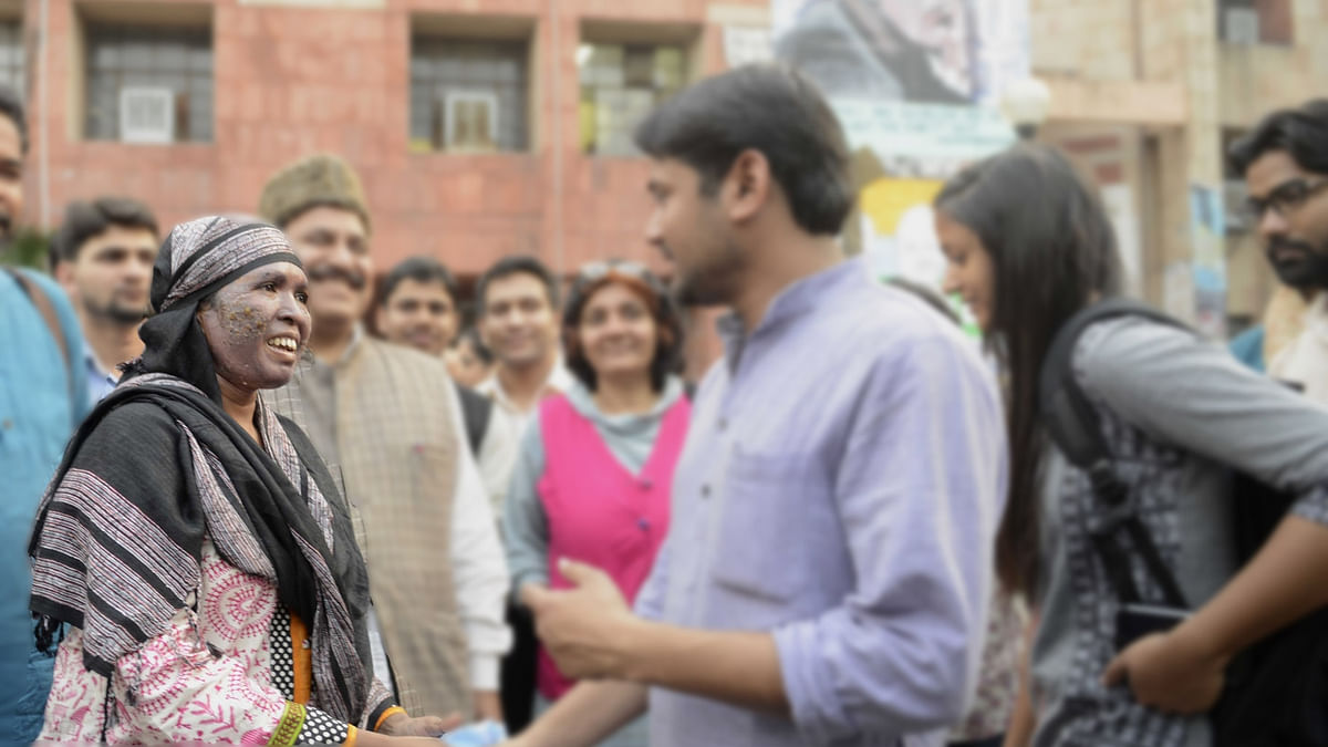Activist and AAP member Soni Sori in New Delhi.