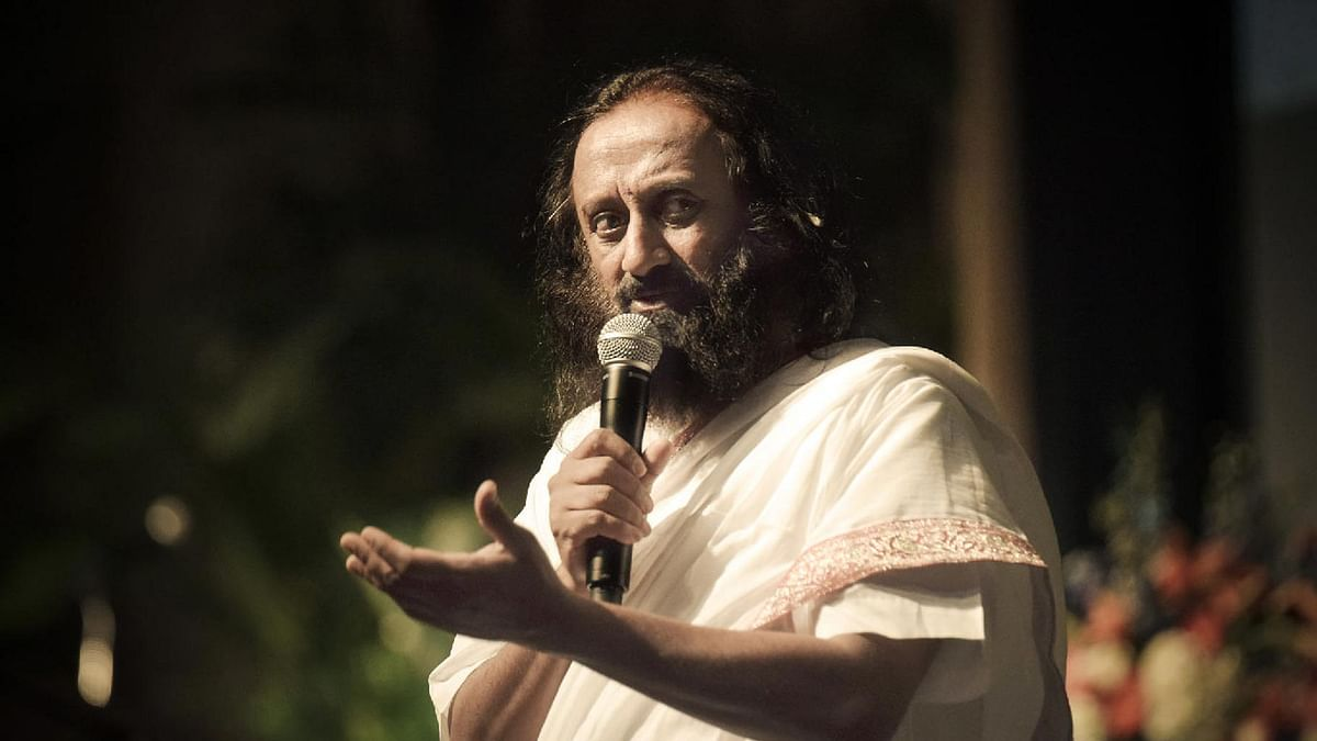 """The NGT has given AOL time till Friday to pay the Rs 5 crore fine, failing which the law will take its course. (Photo Courtesy: <a href=""""http://srisriravishankar.org/"""">srisriravishankar.org</a>)"""