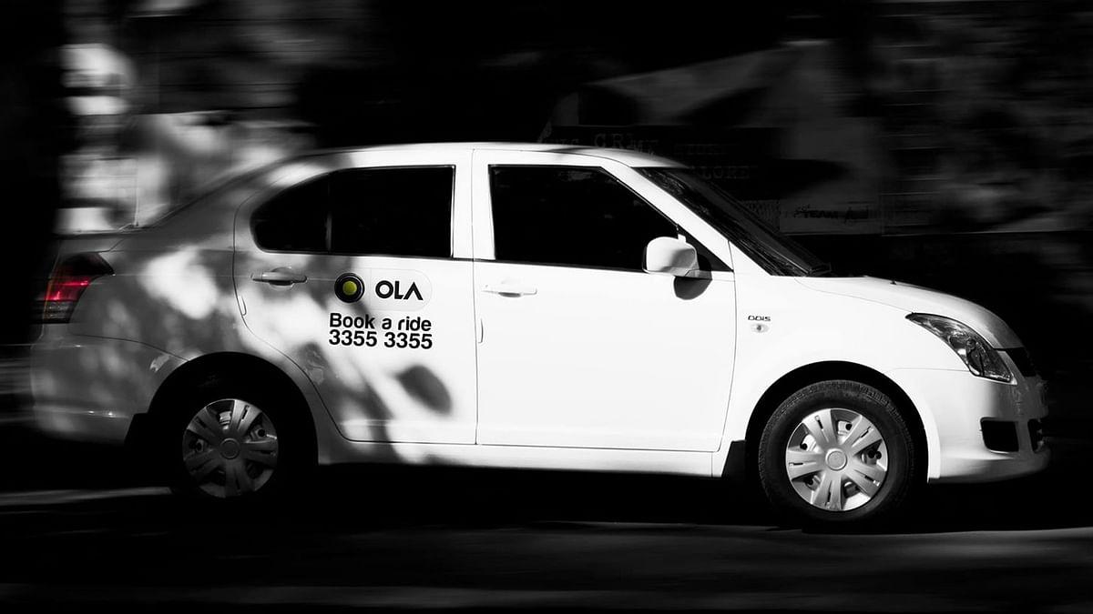 """Ola Cab. (Photo Courtesy: Facebook/<a href=""""https://www.facebook.com/Olacabs/photos/a.414388348588976.108357.181897891838024/741343382560136/?type=3&amp;theater"""">Olacabs</a>)"""