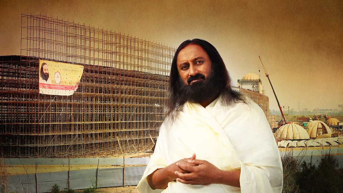 Art of Living Foundation will appeal against the NGT order. (Photo: <b>The Quint</b>)