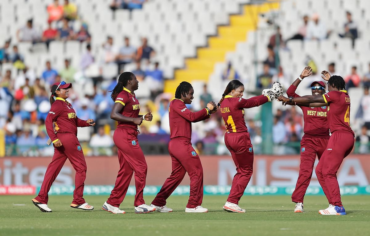 West Indies have lost one match against England but have outclassed Pakistan, Bangladesh and India to make it to the semis.(Photo: AP)