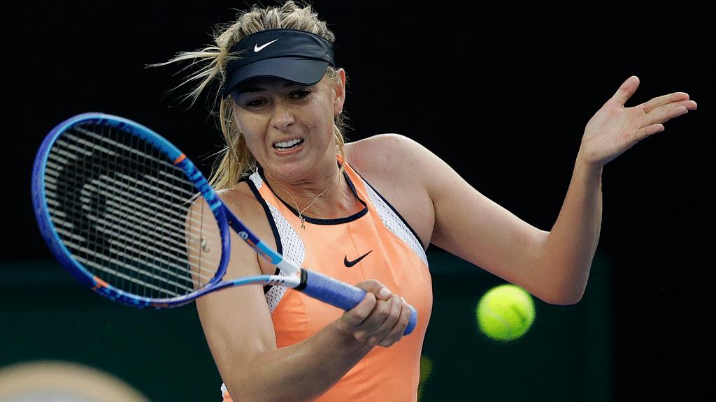 Maria Sharapova. (Photo: AP)