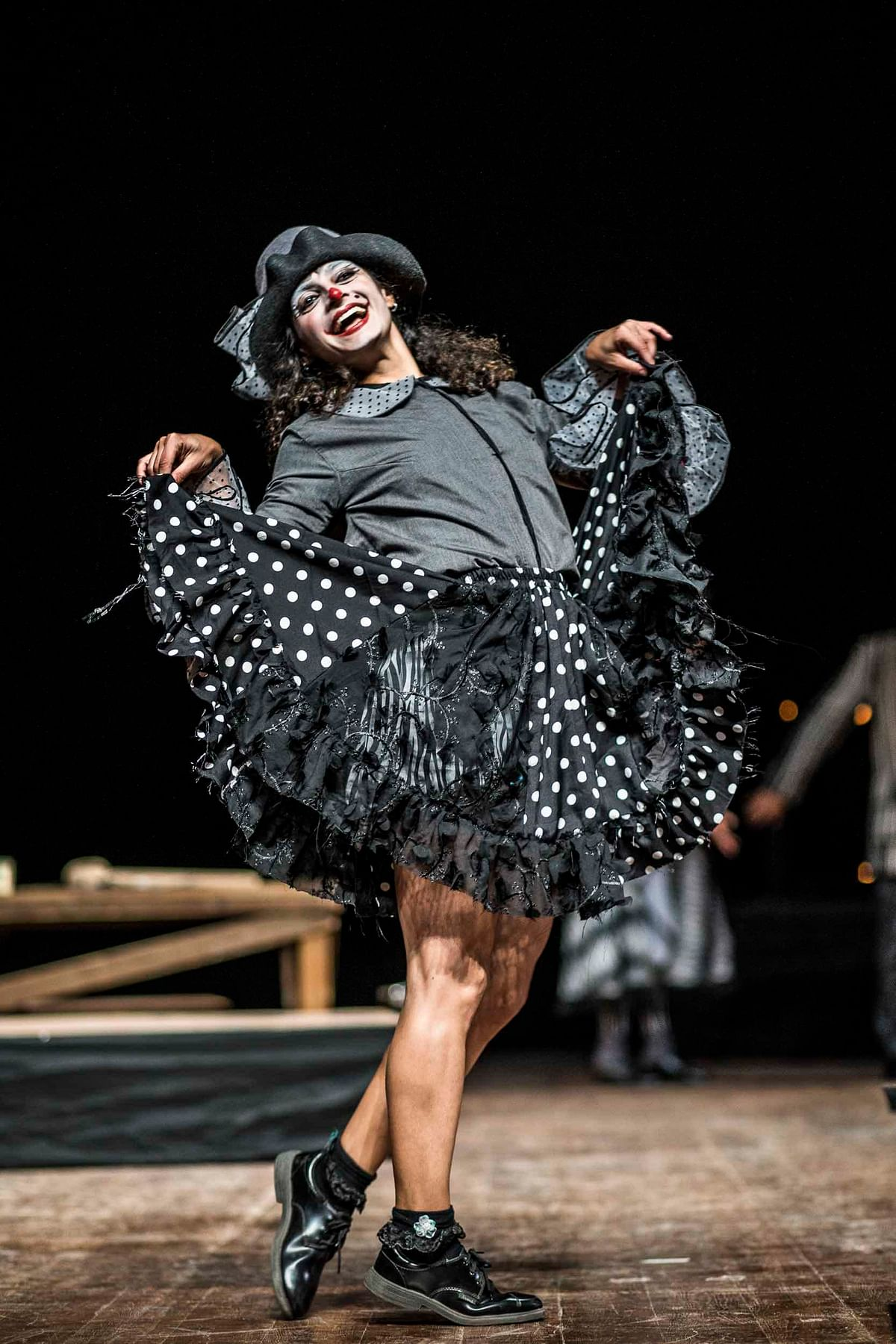 The nimble-footed Faezeh Jalali plays a delightful Mimi 'who steals even the pauses of other actors'