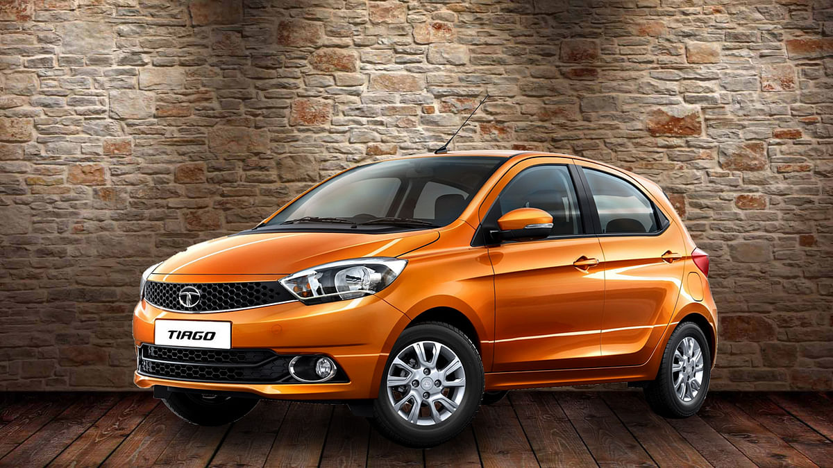Tata Tiago. (Image altered by <b>The Quint</b>)