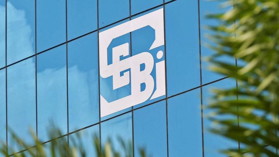 The logo of the Securities and Exchange Board of India (SEBI), India's market regulator, is seen on the facade of its head office building in Mumbai. (Photo: Reuters)
