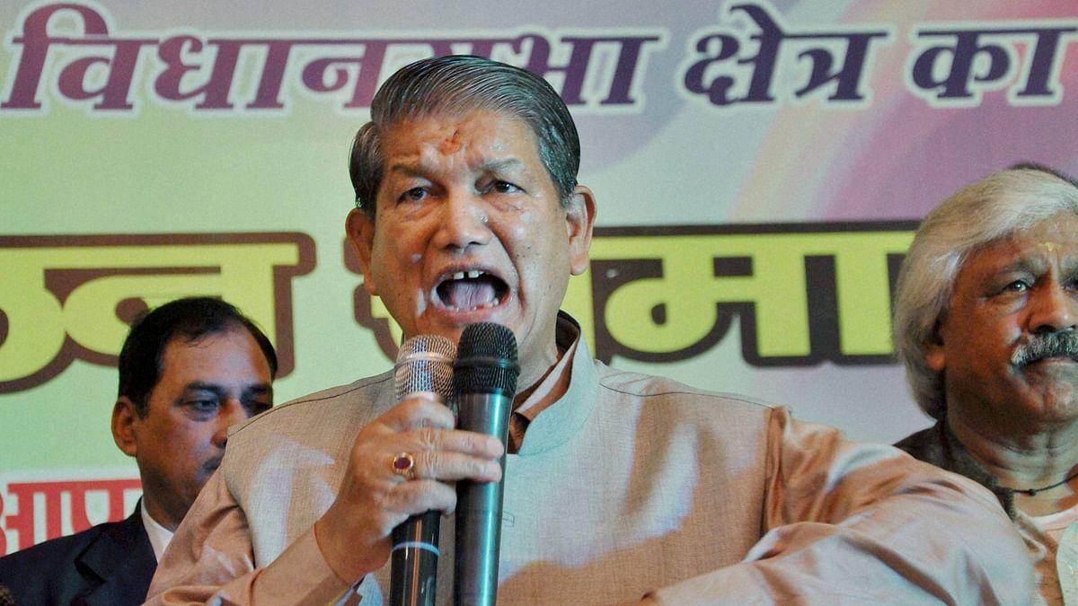 Uttarakhand CM Harish Rawat. (Photo:PTI)