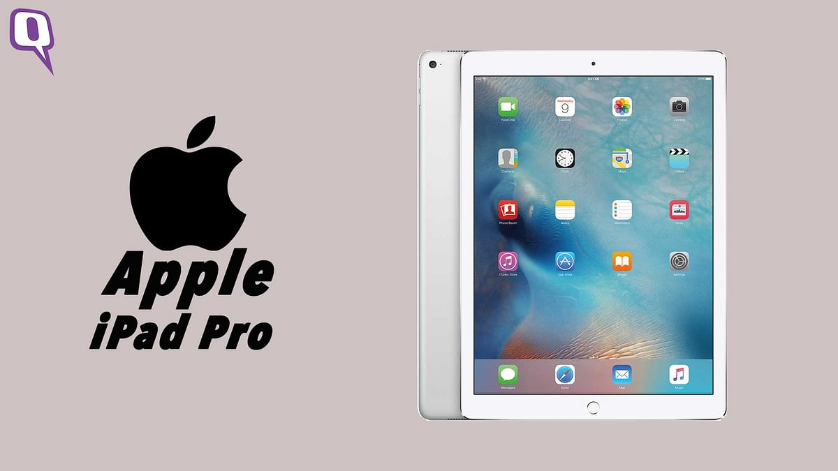 Apple's all set to launch a 9.7-inch iPad Pro on 21, March 2016. (Photo: <b>The Quint</b>)