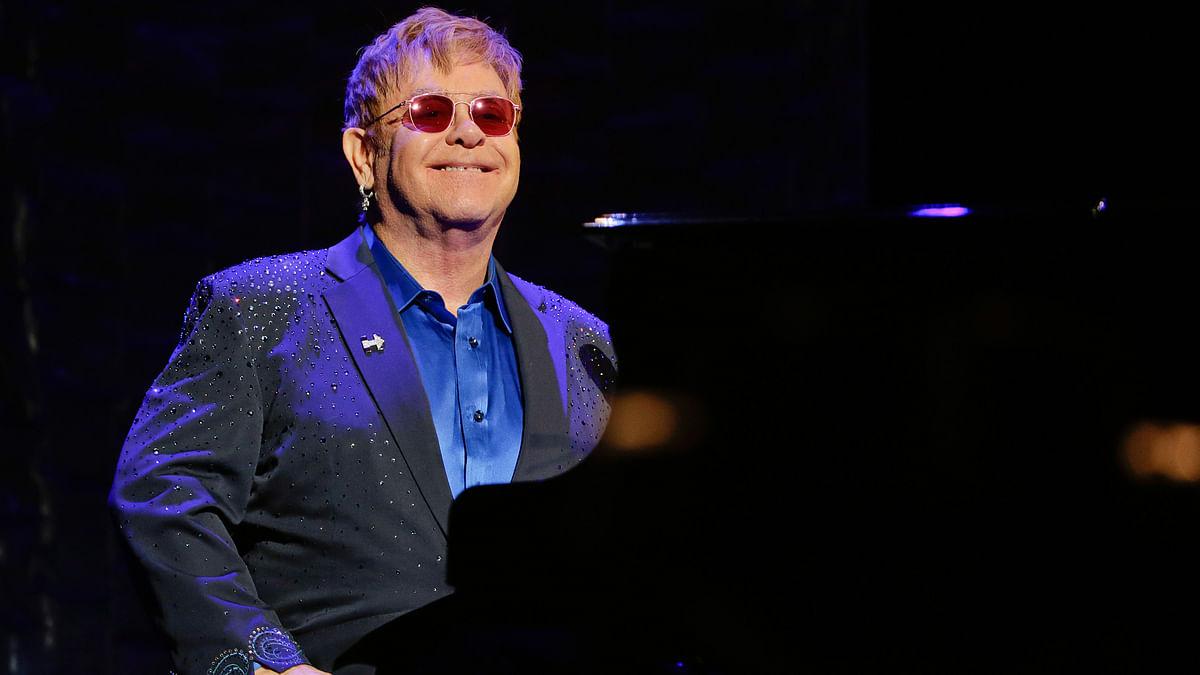 A file photo of Elton John. (Photo: AP)