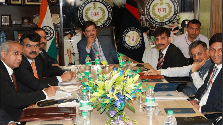 File photo of  Pakistan JIT briefing. (Photo Courtesy: NIA)