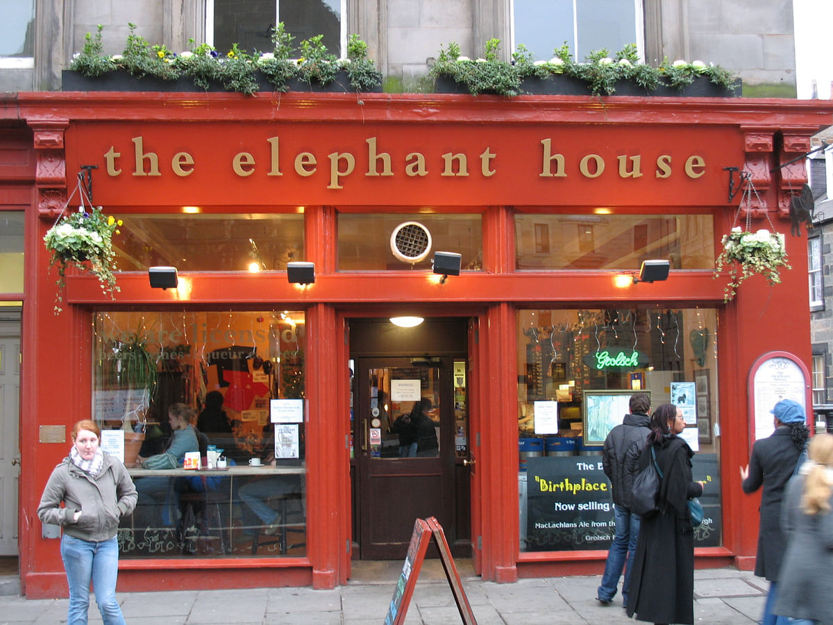JK Rowling did wonders for the 'coffee shop culture', writing most of her first Harry Potter book in this cafe. (Photo Courtesy: Wikimedia Commons)