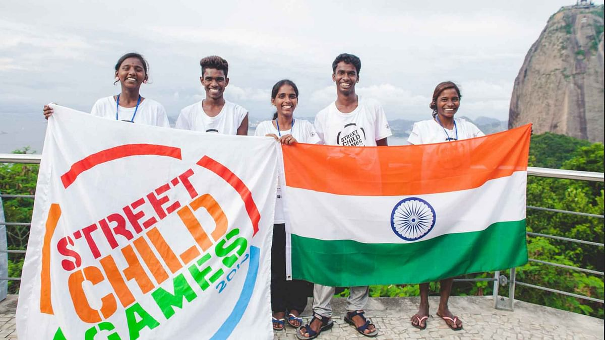 """The street children have been rescued, protected and trained by <a href=""""http://www.karunalaya.in/"""">Karunalaya</a>, a centre for Street and Working Children in Chennai. (All Photos: <a href=""""http://www.streetchildunited.org/street-child-games-2016/"""">Street Child United</a>)"""
