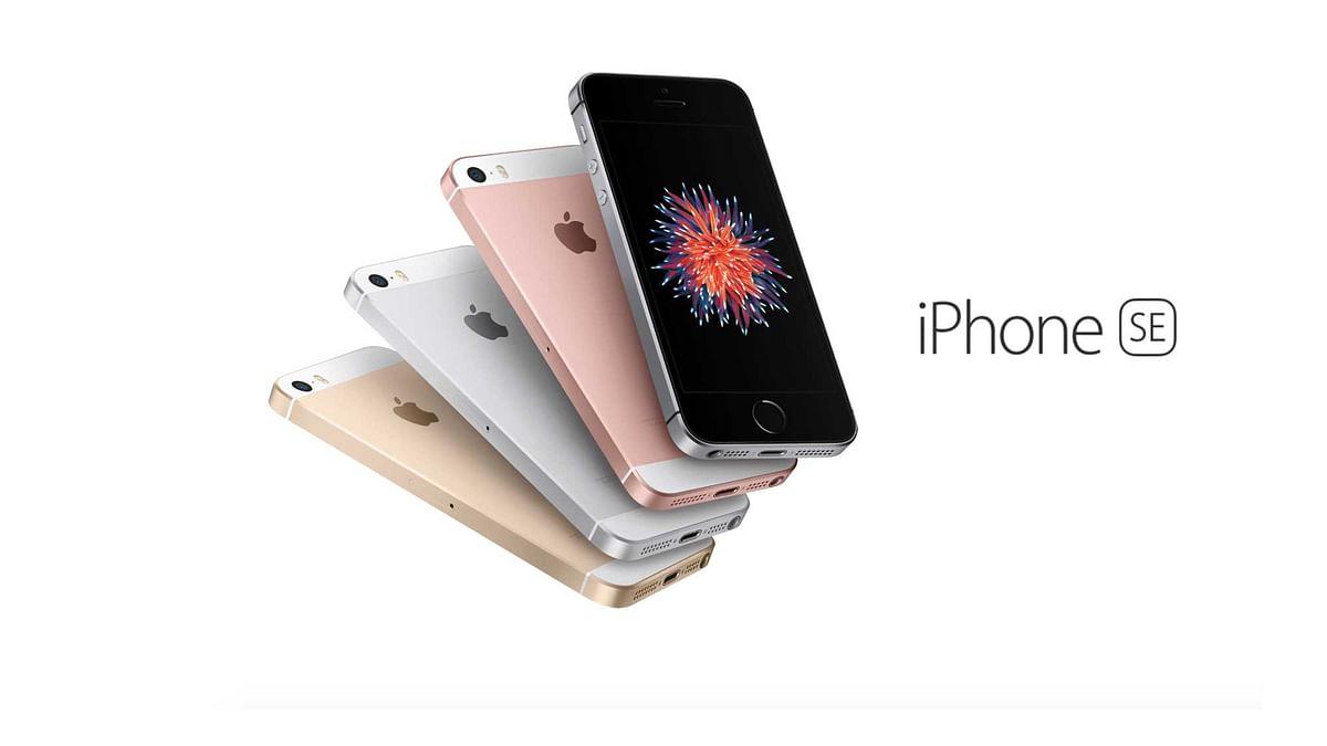 Apple iPhone SE. (Photo: Apple)