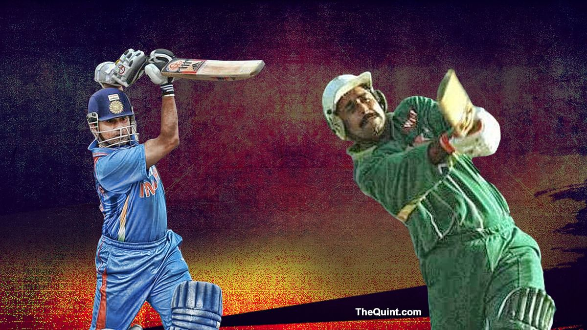 Javed Miandad, Sachin's Sixes Re-Defined India-Pak Clashes