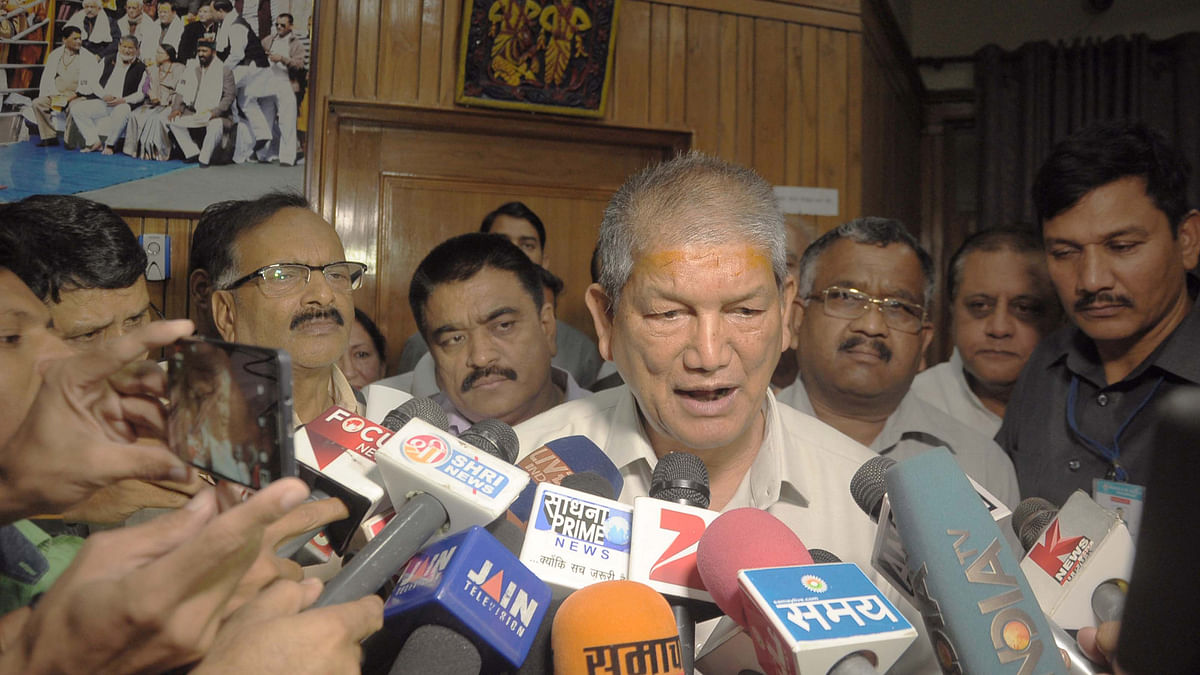 The Congress government in Uttarakhand is heading towards a political crisis with the senior members of the party rebelling against Chief Minister Harish Rawat. (Photo courtesy: IANS)