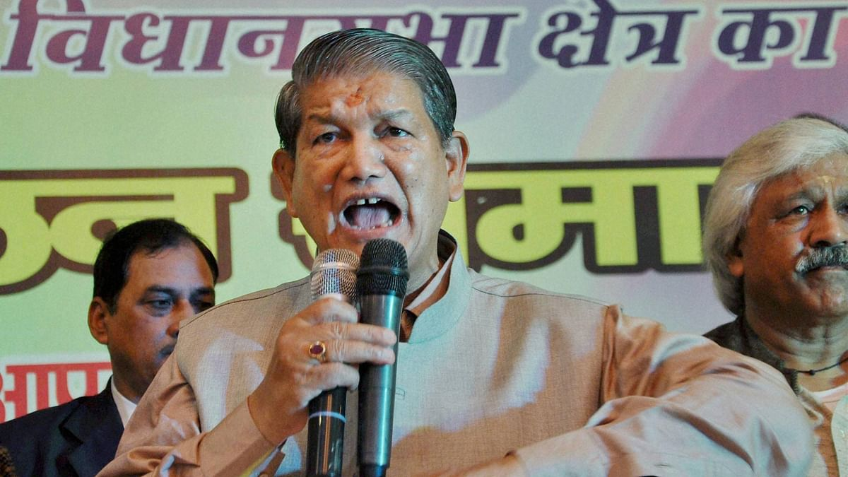 Former Chief Minister of Uttarakhand Harish Rawat. (Photo: PTI)