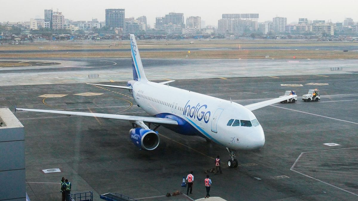 File photo of an IndiGo aircraft.