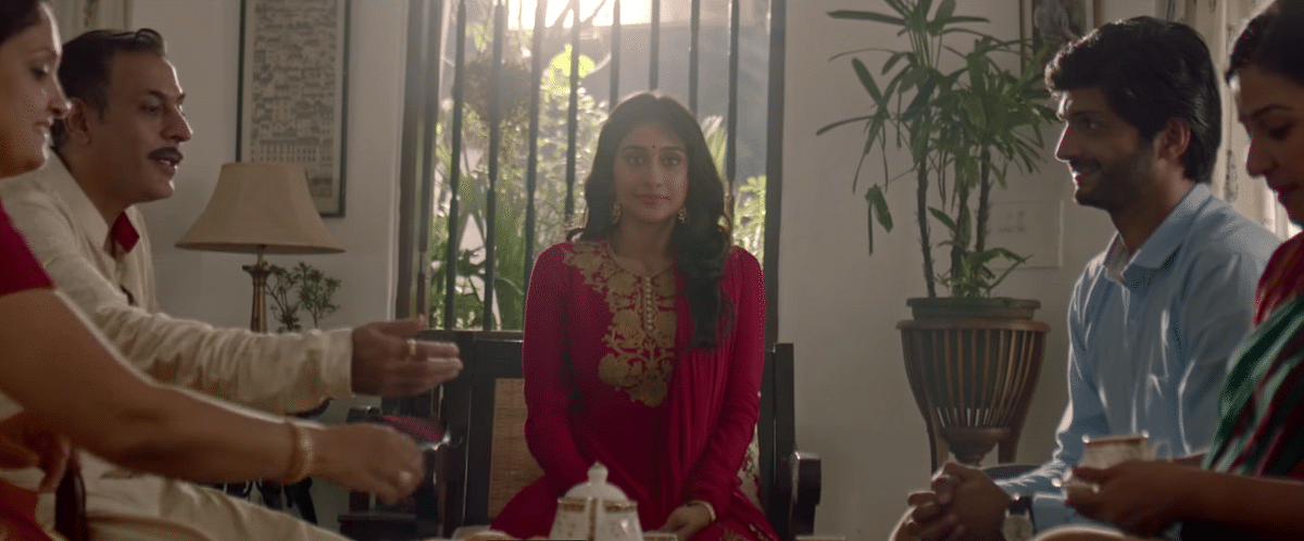 The ad seems to say that it is <i>absolutely</i> okay for the girl (who was apprehensive earlier) to marry the stranger, as long as the traditional roles are reversed. (Photo Courtesy: YouTube screenshot)