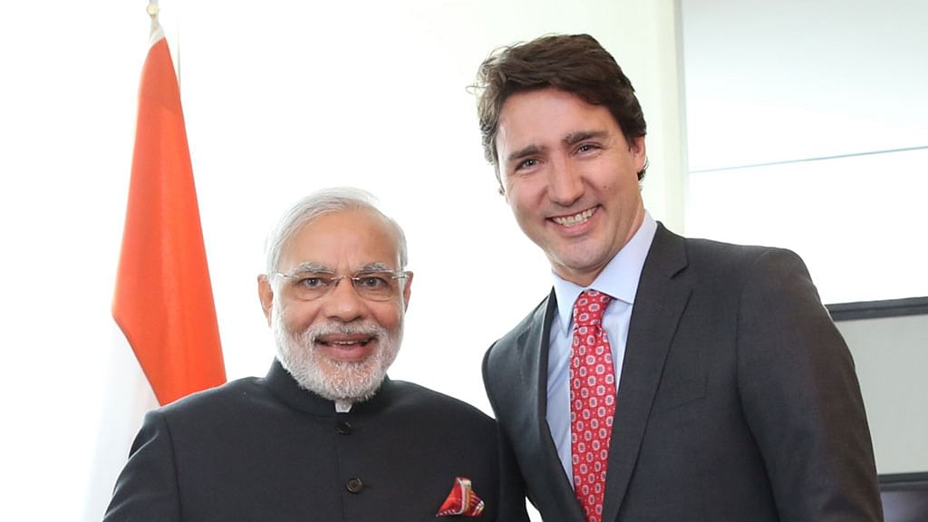 Canada's Trudeau Dials Modi, But Their Versions of the Call Differ