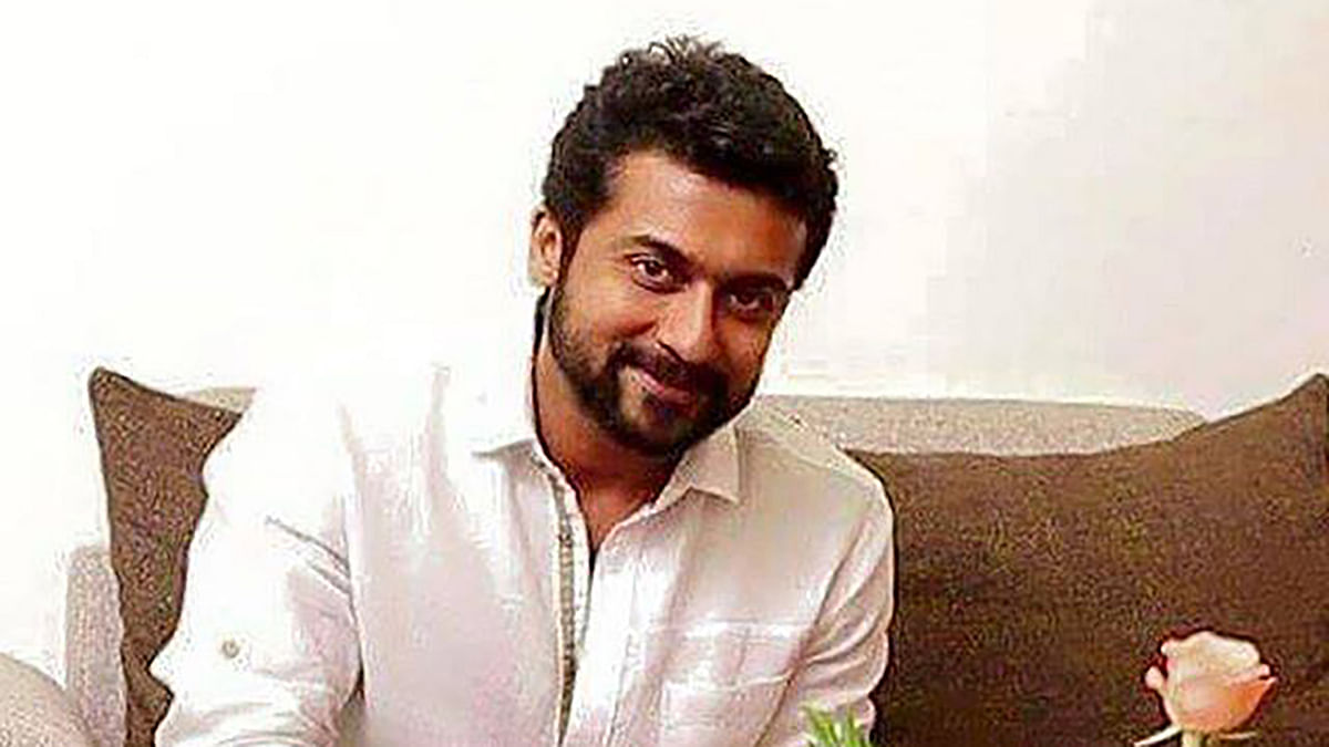 "Tamil superstar Suriya (Photo: <a href=""https://www.facebook.com/fanofsuriya/photos/pb.240821372629010.-2207520000.1457041791./1132249843486154/?type=3&amp;theater"">Facebook</a>)"