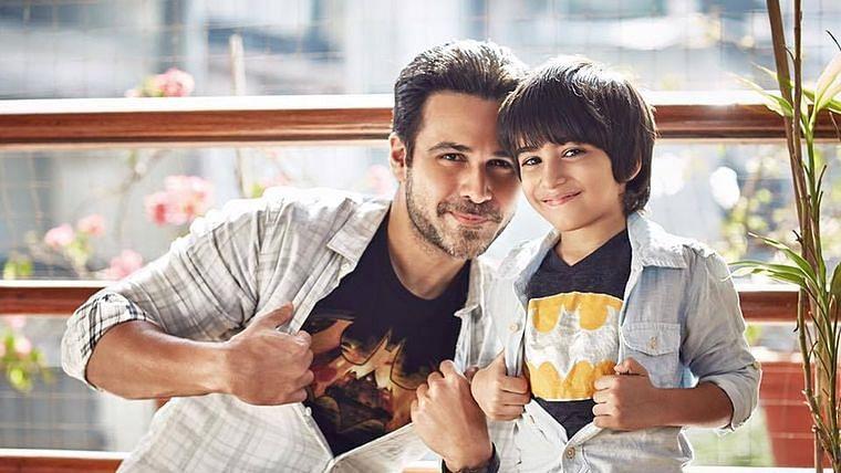 Emraan Hashmi with his son Ayaan (Photo: Twitter)