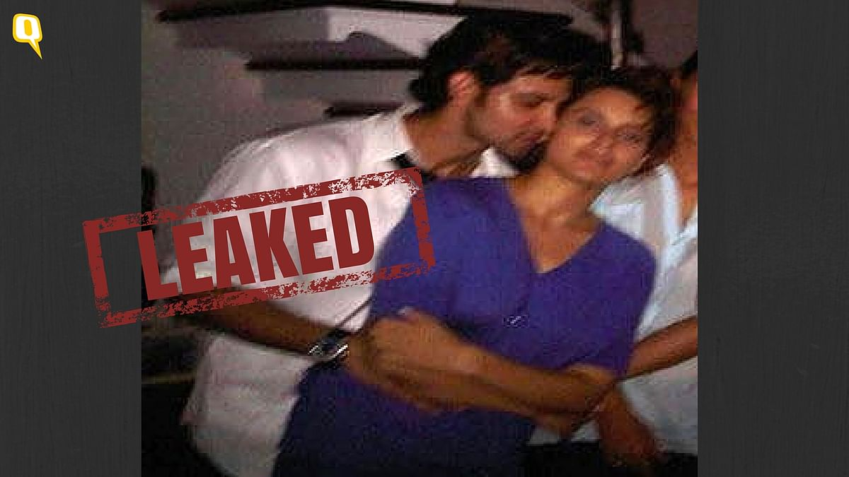 Kangana Ranaut and Hrithik Roshan were clicked together at a party 6 years ago