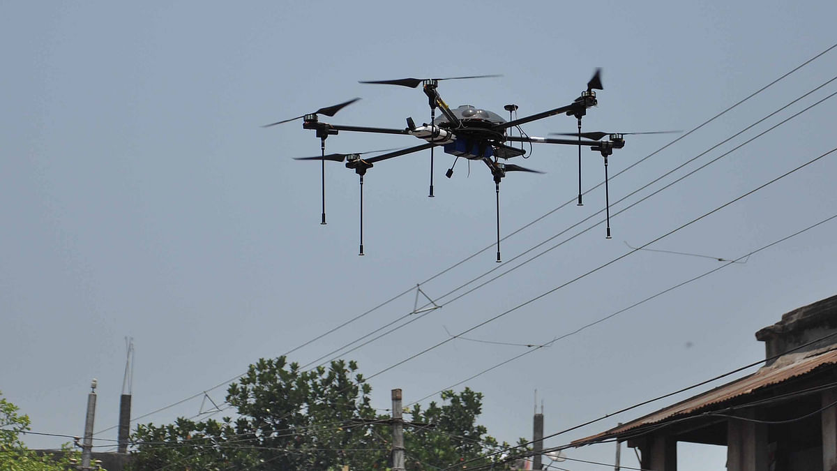 Indian Railway will now use drones to inspect projects. (Photo: IANS)